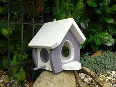 Big Garden Projects, Wood Projects, Woodworking Projects, Wood Bird Feeder, Bird Feeders, Hanging Planters, Bird Houses, Modern Design, Backyard