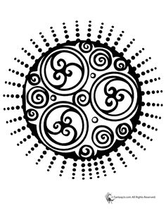 Mandala Coloring Pages for Kids & Adults Celtic Swirl Mandala Coloring Page – Fantasy Jr.