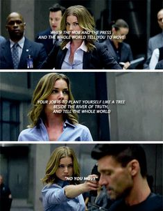 I love Sharon. Although she is Peggy's niece, she did not have to become a field agent. She pushed herself to become better in The Winter Soldier, and we continue to see her competence in Civil War. Good job to Marvel and Emily Vancamp on making Sharon a great character to watch.