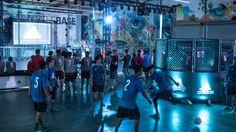 "Adidas Tango League Takes On Los Angeles for Release of ""Ocean Storm"" Pack Street Football, Ocean Storm, Tango, Burgers, Soccer, Interior, Sports, La Galaxy, Hamburgers"