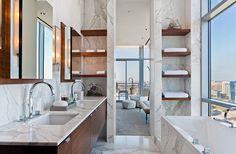 30 Marble Bathroom Design Ideas 26