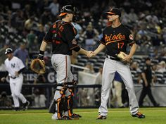 Matt Wieters and Brian Matusz