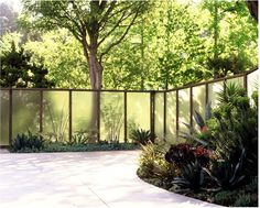 fiberglass privacy screen - use behind boxes
