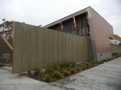 Hyde Park Library Fiber Cement Exterior Barrier Fence Concrete Board