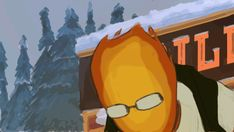 (gif) Frisk and Grillby ||| Undertale Fan Animation by nirelaz on Tumblr