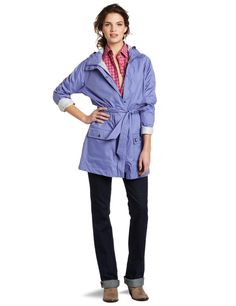 Carhartt Womens Downburst 3/4 Length Waterproof Coat