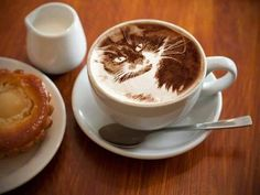 We have collected 50 of the most amazing coffee art images from around the web and put them all into one blog post, Enjoy!