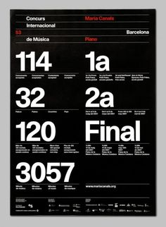 Creative Posters, Maria, Canals, International, and Piano image ideas & inspiration on Designspiration Typo Poster, Typography Poster Design, Typographic Design, Graphic Design Posters, Typography Inspiration, Web Design Inspiration, Design Ideas, Ux Design, Page Design