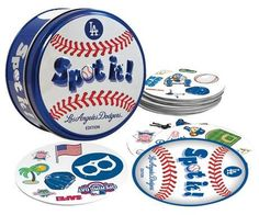 MLB Spot It Card Game