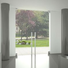 akustik cam kapı