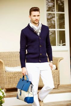 The Style Examiner: Mark/Giusti Spring/Summer 2014 men's accessories. Reallllly preppy look for the right guy!