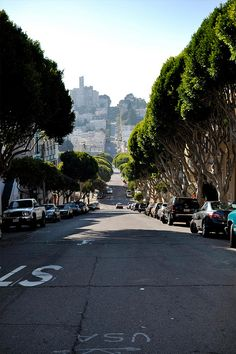 I lived awhile at the tall apartment at the top of the hill ;)