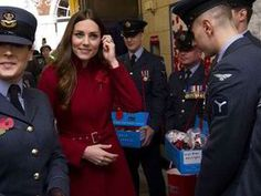 The Duke and Duchess of Cambridge visited High Street Kensington station today