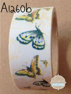washi tape mariposas