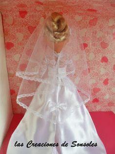 Hace tiempo que tenía ganas de hacer este vestido, la réplica del traje de novia de la princesa Grace kelly, eran tan bella y elegante que n...