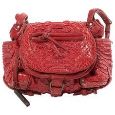 JEROME DREYFUSS Twee Mini python crossbody bag
