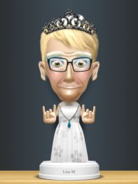I hope this Bobble head maker app is still free--get it while you can, it is seriously fun. So many options!  http://www.smartappsforkids.com/2013/03/good-free-app-of-the-day-bobbleshop-bobble-head-avatar-maker.html
