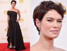 Lena Headey In Rubin Singer – 2014 Emmy Awards Don't forget about the short cut