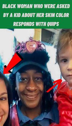 #Black #Woman #Kid #Skin #Color #Responds #Quips