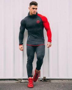 2018 New Sport Suit Men Bodybuilding Jacket Pants Sports Suits Basketball Tights Clothes Gym Fitness Running Set Men Tracksuits Gym Outfit Men, Estilo Fitness, Track Suit Men, Body Building Men, Sport Pants, Running Pants, Mens Suits, Sport Outfits, Gym Men