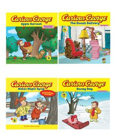 This Curious George: Fall Paperback Set by Curious George is perfect! #zulilyfinds