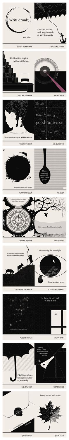Lovely Literary Art Prints featuring quotes By Famous Authors by Evan Robertson How embarrassing to be human - K Vonnegut