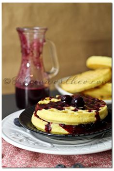 """""""Spring Thyme"""" Review & Blueberry Syrup {Recipe}, blueberry syrup recipe"""