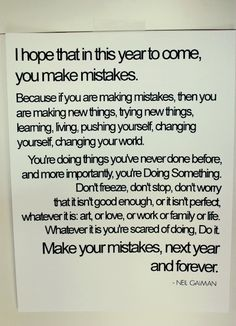 Letter to students -Love this