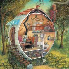 Uma casinha de sonho! ❤ Helen Cooper
