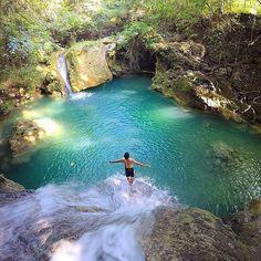 Cambais Falls - Cebu, Philippines --- Photo by @thelakwatsero --- #Cebu #Philippines