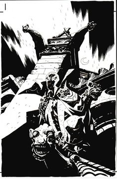 Spawn #100 Cover (2000) Comic Art For Sale By Artist Mike Mignola at Romitaman.com