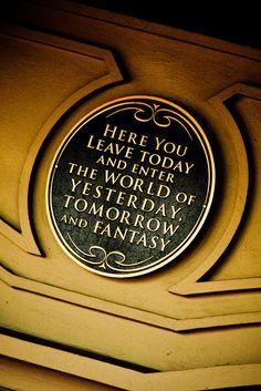 They should put this on the back of the hotel doors at Disney world. Disney World Fotos, Disney World Pictures, Disney World Trip, Disney Trips, Disney Parks, Walt Disney Quotes, Disney Magie, Art Aquarelle, Disney Fanatic