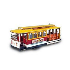 Wooden Model  San Francisco Streetcar  Powell Street ** Read more reviews of the product by visiting the link on the image.