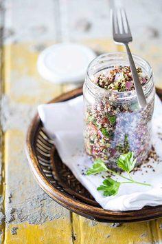 Tabule de Quinoa - Basilico