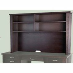 """Collection 20 44"""" H x 13"""" W Desk Hutch Finish: Espresso by The Ergo Office. $599.00. 971-ES Finish: Espresso Features: -Hutch.-Optimum load bearing for long lasting durability.-Available in your choice to complement any interior design. Includes: -Includes pre-assembled pieces to make setup easier. Options: -Available in cherry or espresso finish. Construction: -Wood construction.-High quality european construction. Assembly Instructions: -Assembly required. War..."""