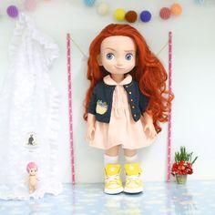Jacket set .Doll clothes for Disney por RabbitinthemoonThai en Etsy