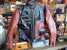 vanson+x+T-bird+shop+//+CYCLE+CHAMP+D+POCKET+Jacket