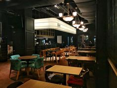 Fred's is an art noir kind of bar event space at One Utama that takes up to 70 pax