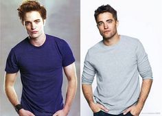 Leave it to Rob's fans to spot the familiar pose ! He was gorgeous as Edward but even more gorgeous as himself!