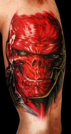 The Red Skull ( HAIL HYDRA!) - Done by Alex Gotza