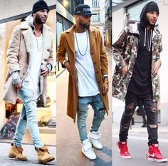 . Casual Trends, Men Casual, Dope Fashion, Mens Fashion, Swag Outfits, Fashion Outfits, Old School Fashion, Clothing Haul, Urban Street Style