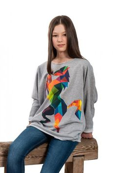 Bluza Color Horse - ADDICTED TO