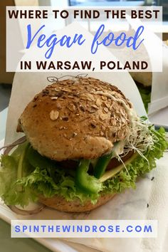 My favourite vegetarian and vegan restaurants in the Polish capital serve a variety of delicious food... here's where to find the best vegan food in Warsaw.