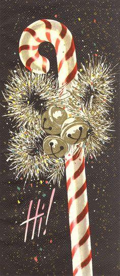 Christmas Candy Cane Hi
