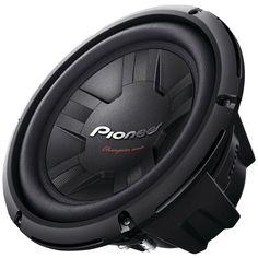 """Pioneer Champion Series 10"""" 1200-watt 4ohm Subwoofer (dual Voice Coil). 10"""" Champion Series subwoofer 1200W max (400W nominal) IMPP composite cone Dual-layer fiber-reinforced elastic polymer surround  Double-stacked magnet  New spider shape  Independent spider holder  Light & rigid dust cap  Rigid fully enclosed single-piece basket cooling vents & aluminum voice coil bobbin Freq resp: 20Hz-125Hz (-20dB) Dual voice coil"""