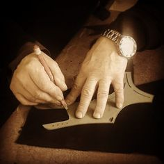 THE CUTTING @tognonishoes are always cut by hand never by laser. In this way the artisan can match the skins and cut only the best part of each hide.  #craftmanship #cut #handmade #artisan #madeinitaly #dapper #menstyle #menswear #shoes #menfashion #spring #exclusive #newyork #bespoke #tuscany #gq