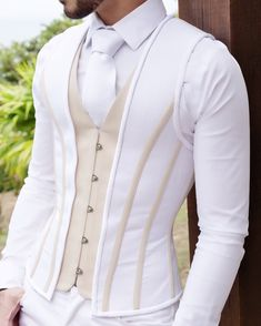 In this section you will find discounts for products that were already used in different events or photo shoots. Mens Fashion Suits, Fashion Outfits, Gothic Fashion, Steampunk Fashion, African Wear Styles For Men, Waistcoat Men, Vest Men, Designer Suits For Men, Underbust Corset