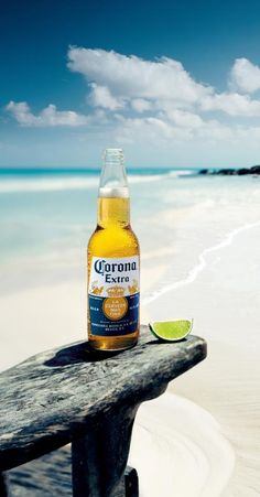 Mexico - Corona☀️is pure happiness... Toes in the water, ass in the sand not a worry in the world with a cold Corona in hand