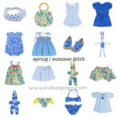 kids fashion from Kidsagogo  Spring Summer 2015