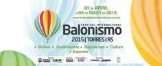 27º Festival Internacional de Balonismo começa nesta quinta-feira